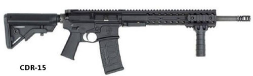 "DRD Tactical CDR-15 QBD .223/5.56, 16"" Barrel, Black MagPul Stock, Black, 30+1rd"