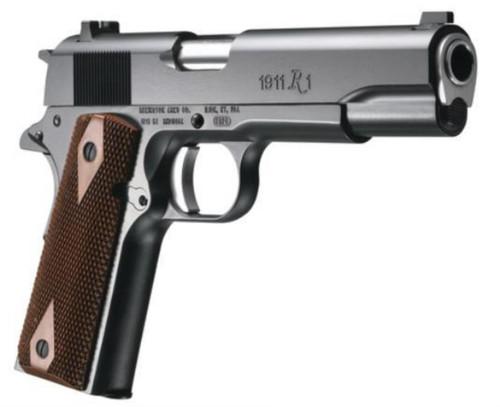 "Remington 1911 Model R1 45 ACP 5"" Barrel Walnut Grips 7rd Mag"