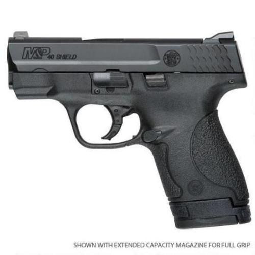 """Smith & Wesson M&P Shield 9mm 3.1"""" Barrel One 7rd and One 8rd Mag Pull MA Compliant"""