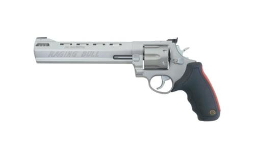 "Taurus Model 444 Raging Bull 44RemMag 8.38"" Barrel 6rd Adjustable Sight Synthetic Grip Matte SS"