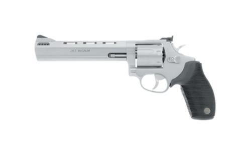 "Taurus Model 627 Standard 357 RemMag 6.5"" Ported Barrel 7rd Ribber Grip Overlay MSS"