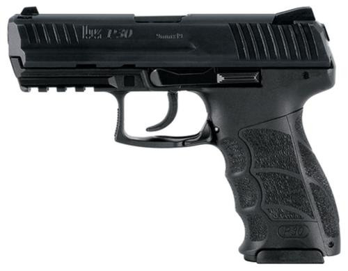 HK P30 (V1) Light LEM DAO, 3x 15rd magazines and night sights