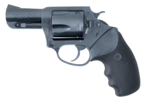 "Charter Arms Bulldog, .44 Special, 2.5"", 5rd, Black Rubber Grip, Blued"