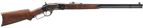 "Winchester 1873 Sporter 45 LC 24"" Barrel Color Case Hardened Finish"