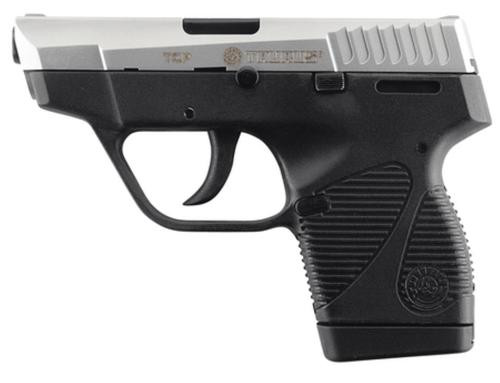 "Taurus Model 738 TCP, 380 Compact Pistol/3.3"" SS, Extended Mag"