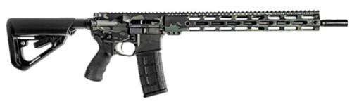 """BCI Defense SQS15 Pro Series, .300 AAC Blackout, 16"""", 30+1, Multicam Black"""