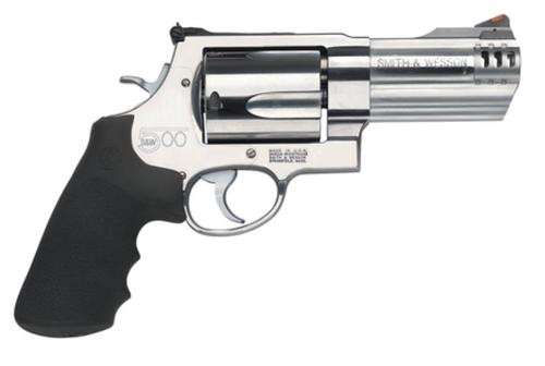 "Smith & Wesson M500 500 Magnum 4"" Barrel 5rd Matte Stainless Finish"