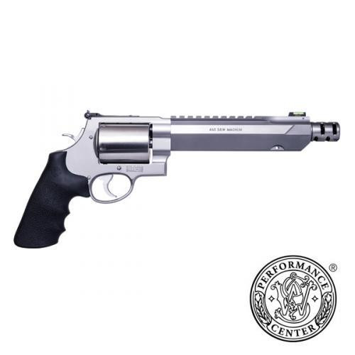 """Smith & Wesson M460 Performance Center .460 S&W Mag, 7.5"""" Barrel, Rubber Grips, Muzzle Brake"""