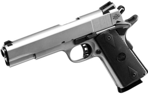 """Rock Island Armory 1911-A1 Tactical 45 ACP 5"""" Matte Nickel 8 Round"""