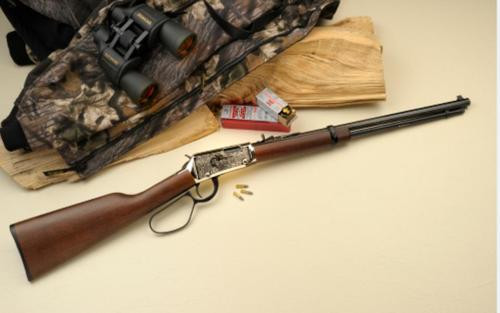 """Henry Monument Valley Edition Rifle, 22LR, 20"""" Octagon Barrel, 16rd, Engraved"""