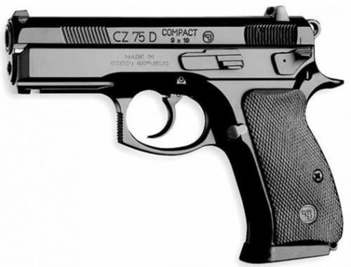 CZ Compact SDP, 9mm, Black Alloy, Heinie Night Sights, 14rd, CZ CUSTOM