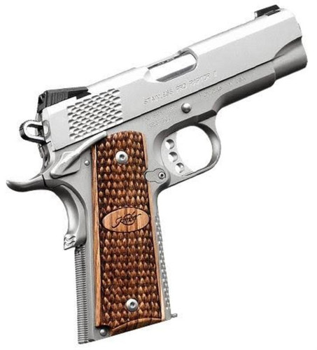 "Kimber Stainless Pro Raptor II, 9mm, 4"", Satin Stainless Steel"