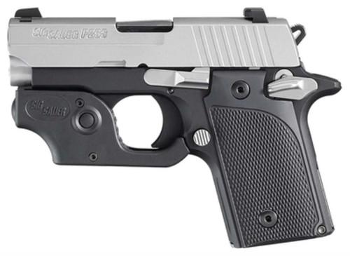 Sig P238 Pistol With Laser 380 ACP 6 Rd Mag Black Finish