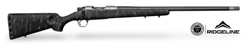 Christensen Ridgeline 300 RUM 26In 1/10 Fiberglass W/Carbon Sporter Black W/Gray Webbing Stock 300 RUM