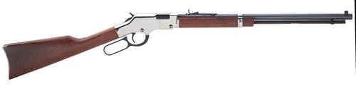 Henry Repeating Arms Silver Boy Lever 17hmr Bl/wd