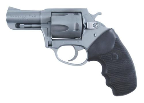 """Charter Arms Bulldog, .44 Special, 2.5"""", 5rd, Black Rubber Grip, Stainless"""
