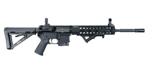 "Windham CDIAR15  223/5.56 16"" M4 Profile Barrel, Flip-Up Sights Magpul MOE Buttstock 10rd Bullet Button CA Compliant"