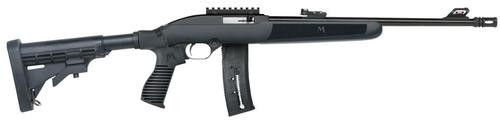 "Mossberg Flex .22LR, 16.25"", Blue Flex 6-Position Adjustable Stock, 22rd"