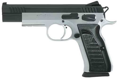 "EAA Witness Elite Match, 9MM, Two Tone, 4.75"" Polygonal Barrel 17 Rnd Mag"