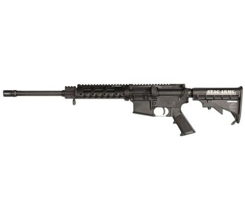"Stag Arms Model 9L 9mm Rifle, 16"", LH Bolt Carrier, Diamondhead VRS-T Drop In Handguard, 32rd"