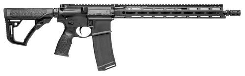 """Daniel Defense DDM4 V7 LW 5.56mm 16"""" Barrel MFR XS Rail 32rd Mag"""