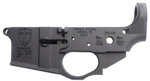 Spikes Tactical Crusader AR-15 Lower Receiver, Multi-Caliber