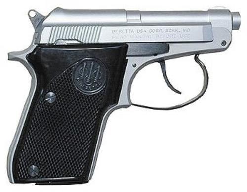 """Beretta Model 21 Bobcat, 22LR, 2.4"""" Barrel, 7rd Mag, Stainless Finish"""