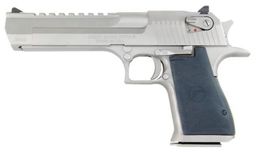 "Magnum Research Desert Eagle Mark XIX .50 AE 6"" Barrel Satin Nickel 7rd"