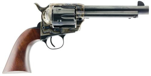 """Taylor's 1873 Cattleman Gunfighter 45LC 5.5"""" 6rd Army Size Walnut Grip Blued"""