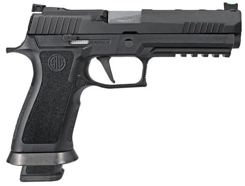 """Sig P320 X5 Full Size 9mm, 5"""" Barrel, Fiber Optic Front Sight, 4x21rd Mags"""