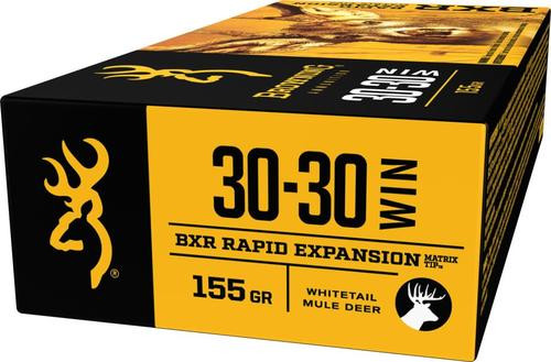 Browning BXR Rapid Expansion .30-30 Win, 155gr, Matrix Tip, 20rd Box