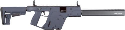 "Kriss Vector CRB Enhanced Gen II, 9mm, 16"" Shrouded Barrel, 17 rd, M4 Stock, Combat Grey"