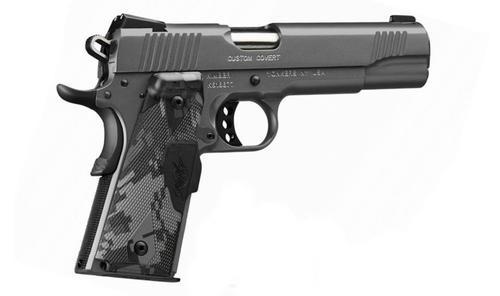 "Kimber Custom Covert 45 ACP, 5"", 7rd,, Crimson Trace Lasergrips"