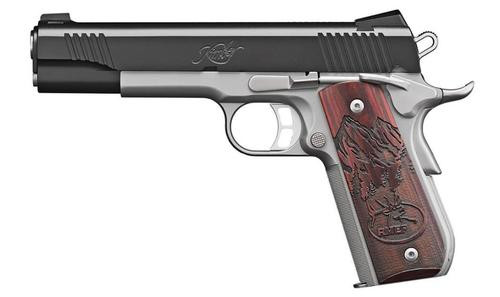 Kimber Camp Guard 10mm, Two Tone, Rosewood Grips, 8rd,