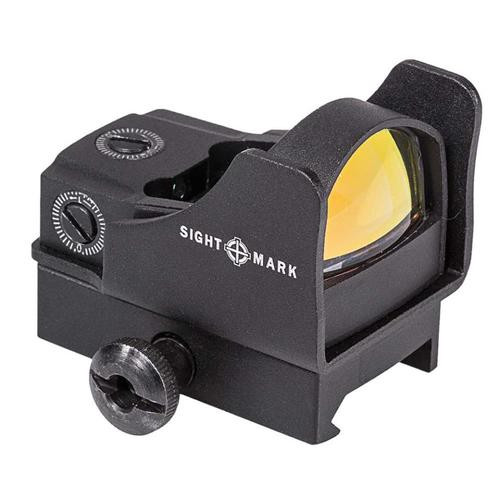 Sightmark Mini Red Dot Sight With Hi and Low Mount 5 MOA Dot