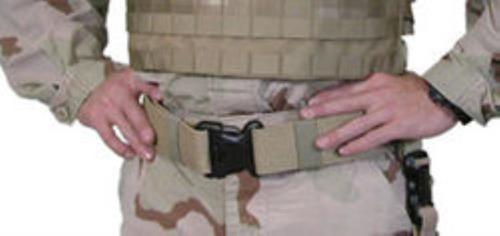 BlackHawk Web Belt, Large, Coyote Tan
