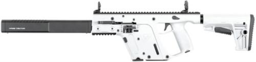 "Kriss Vector Gen II Carbine, 45 ACP, 16"" Barrel, Defiance M4 Stock, Alpine White, 17rds"
