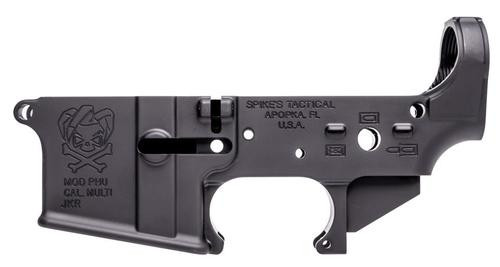 Spikes Tactical Pipe Hitters Union Joker Stripped Lower Receiver, Multi Cal