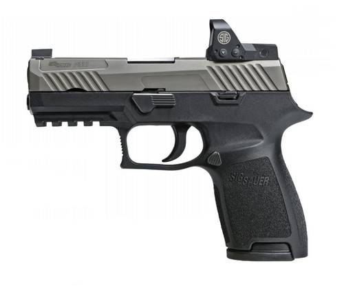 Sig P320 Compact 2 Tone Exclusive 9mm W/ROMEO1 Reflex Sight15rd Mags