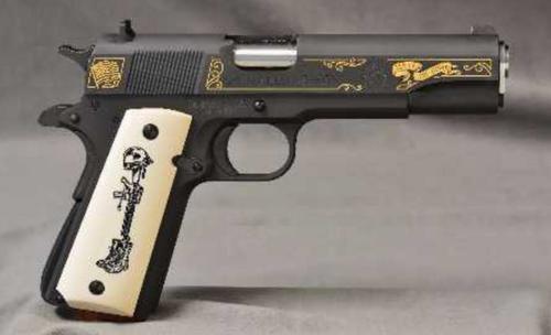 Springfield 1911-A1 Battlefield Cross Limited Edition 45 ACP