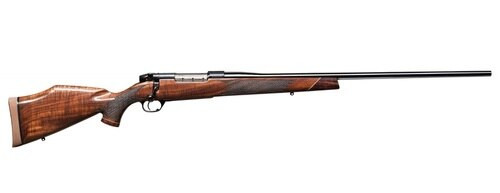 """Weatherby Mark V Deluxe, .270 Win, 24"""", Blued, Polished Walnut Stock"""