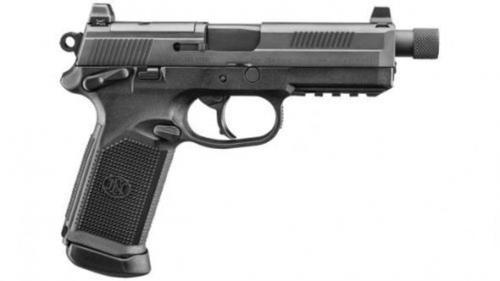 "FN FNX-45 Tactical 45 ACP 5.3"" Threaded Barrel, Night Sights 15 Round Gray/Black"
