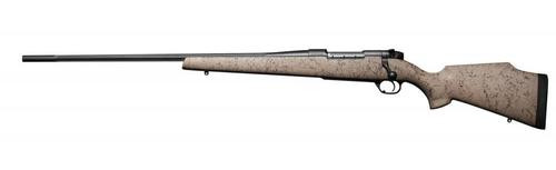 """Weatherby Mark V Ultra Lightweight Left Hand, .300 Wby Mag, 28"""" Fluted, Black Stainless, Composite Stock"""