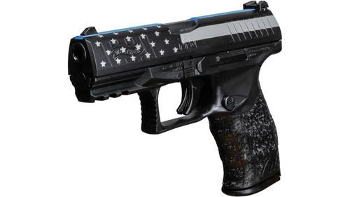 "Walther PPQ M2 9mm Blue Line 4"" Barrel - $20 Donation w/Each PPQ"