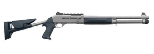 "Benelli M4 H20 LEO 12 Ga, 18.5"" Barrel Tele-Stock, Law Enfocement Only"