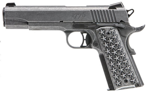 "Sig 1911T We The People 45 ACP 5"" Barrel Aluminum Grip 7rd Mag"