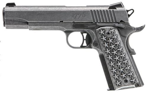 "Sig 1911T We The People 45 ACP 5"" Barrel Aluminum Grip 7rd Mag"