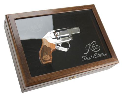 Kimber K6S Revolver, 1st Edition.357 Magnum, Case, DISPLAY MODEL