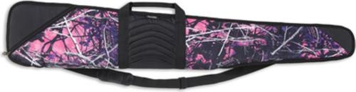 Bulldog Cases Muddy Girl Camouflage Case With Black Leather Shotguns to 52