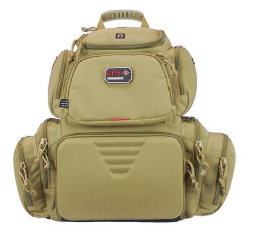 G*Outdoors Handgunner Tan Range Bag/Backpack